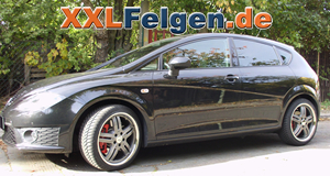 Seat Leon Cupra R + DBV Costano anthrazit Winterfelgen