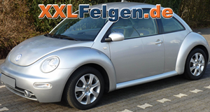 VW Beetle + DBV Lappland 16 Zoll Felgen