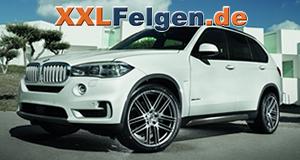 AEZ Cliff Leichtmetallfelgen für den BMW X5