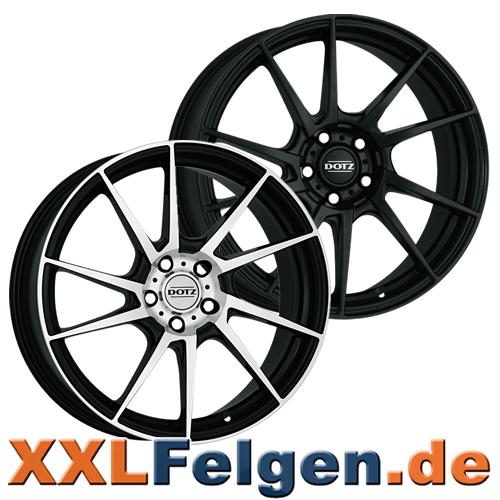 Dotz Kendo Leichtmetallräder - schwarz oder poliert