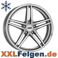 AEZ Portofino Leichtmetallräder Hochglanz silber