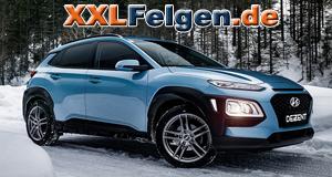 Hyundai KONA Felgen: Die DEZENT TZ GRAPHITE