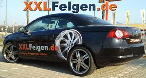 VW Eos + DBV Costano 19 Zoll Alufelgen