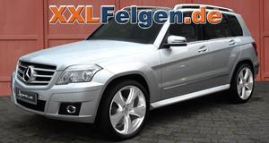20 und  22 Zoll Reverso II Alufelgen für den Mercedes Benz GLK