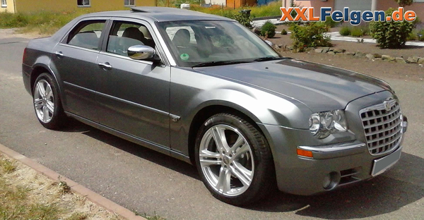 chrysler 300c lx mit 20 zoll mauritius alufelgen in silber. Black Bedroom Furniture Sets. Home Design Ideas