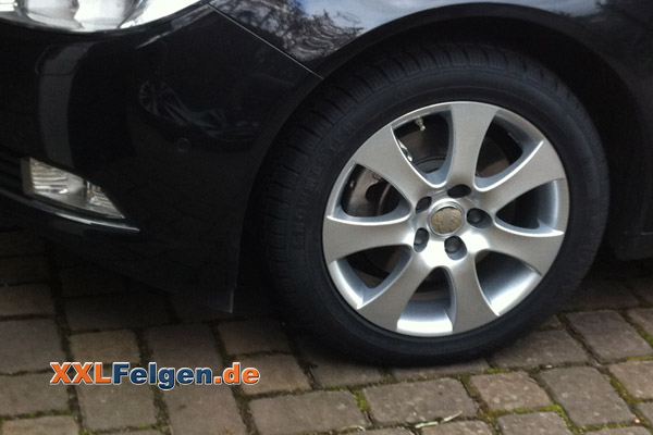 Opel Insignia Dbv Lappland 17 Zoll Alufelgen
