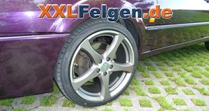 VW Corrado + DBV Venezia 17 Zoll Leichtmetallfelgen