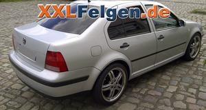 VW Bora mit DBV Costano 18 Zoll Leichtmetallfelgen