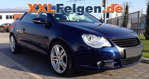 VW EOS mit DBV Mauritius 18 Zoll Alufelgen