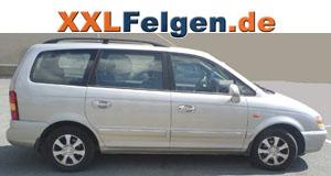 Hyundai Trajet mit DBV Lappland Felgen für Sommer und Winter