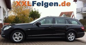 Mercedes E-Klasse + DBV Como 16 Zoll Felgen
