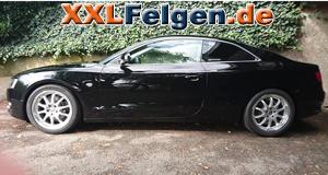 Audi A5 B8 mit DBV Australia Felgen in 18 Zoll