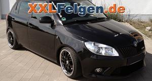 Skoda Fabia RS + DBV S-Australia 17 Zoll Felgen