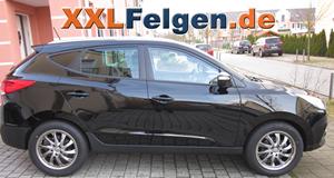 Hyundai iX35 + DBV Milano 18 Zoll