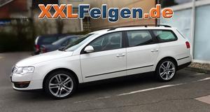 VW Passat 3C Variant  + DBV Mauritius 18 Zoll Alufelge in silber metallic