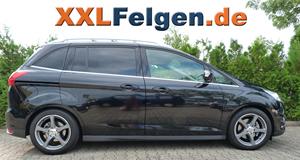 Ford Grand C-Max + DBV Venezia 17 Zoll Felgen