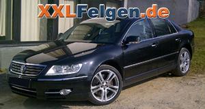 VW Phaeton + DBV Mauritius 19 Zoll Alufelgen