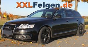 DBV Mauritius full black Felgen für den Audi A6 4F