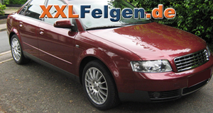 Audi A4 8E + DBV Florida Aluminiumfelgen