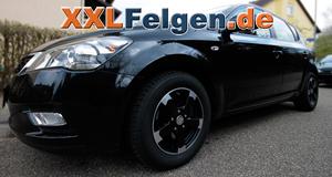 Kia Ceed + DBV Torino II Felgen in 15 Zoll