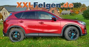 18 Zoll Alufelgen DBV Mauritius für den Mazda CX 5 GH Sportsline