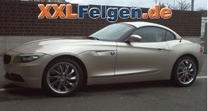 BMW Z4 + DBV Milano 18 Zoll Felgen