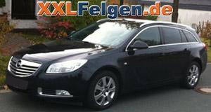 Opel Insignia + DBV Lappland 17 Zoll Alufelgen