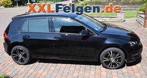 Alufelgen DBV Andorra für den VW Golf VII 17 Zoll