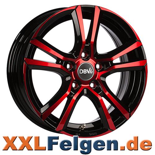 DBV Andorra Red Edition Colourline Felgen