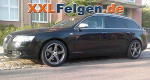 Audi A6 + DBV Venezia 18 Zoll Alufelgen