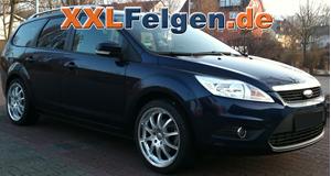 Ford Focus + DBV Australia 18 Zoll Alufelgen