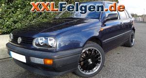 VW Golf 3 + DBV S-Australia 16 Zoll Felgen