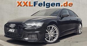 Audi A6 4G und AEZ Kaiman Felgen high gloss silber