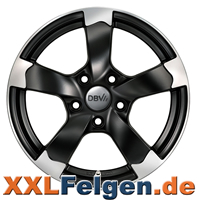 Schwarz DBV Torino II Felgen im Angebot