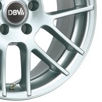DBV Arizona Leichtmetallräder in silber