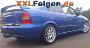 Opel Astra und DBV Arizona 16 Zoll