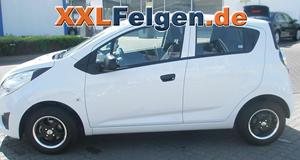 Chevrolet Spark + DBV S-Tahiti 13 Zoll Aluräder