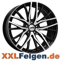 AEZ Panama dark Felgen gunmetal Front polished