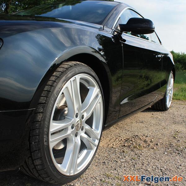 Front polierte Felgen für den Audi A5