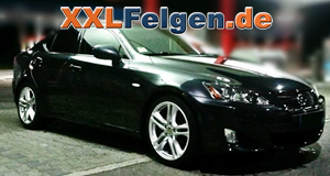 Lexus IS 220 D + DBV Mauritius 18 Zoll silber lackiert
