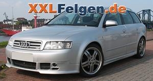 Audi A4 + DBV Costano 18 Zoll Alu-Felgen