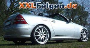 Mercedes SLK 170 + Felgen DBV Australia 19 Zoll