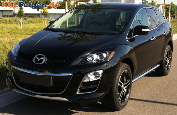 mazda cx 7 dbv mauritius black 19 alufelgen im shop. Black Bedroom Furniture Sets. Home Design Ideas
