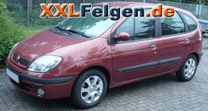Renault Scenic + DBV Lappland 15 Zoll Felgen