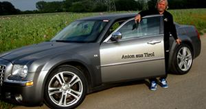 Anton aus Tirol mit seinem Chrysler 300C und DBV Mauritius Alufelgen