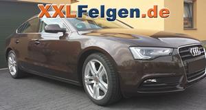 Audi A5 Sportsback B8 + DBV Mauritius 18 Zoll Leichtmetallfelgen