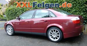 18 Zoll DBV Australia Alufelgen für den Audi A4 B6 8E