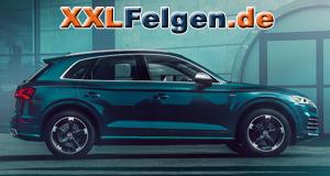 Audi SQ5 mit schwarzen DBV Torino 2 Alufelgen