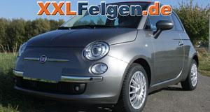Fiat 500 Cabrio + DBV Florida 15 Zoll Felgen