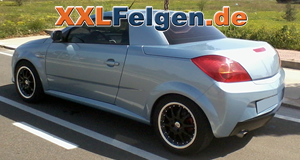 Opel Tigra + DBV S-Australia 16 Zoll Felgen